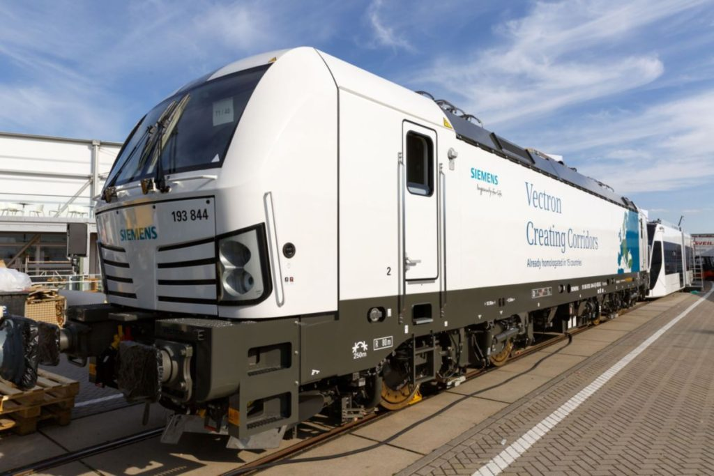 A Vectron MS mozdony Hollandiára is megkapta a tanúsítványt
