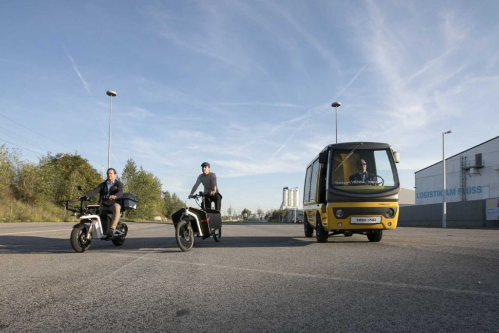 Ausztriai premier a bécsi mobilitási laborban