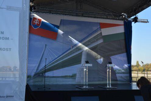 Megkezdődik az új Duna-híd építése