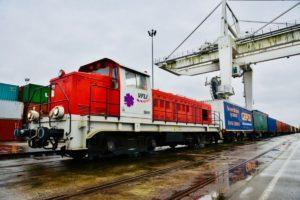 Megérkezett Franciaországba a GEFCO első zárt tehervonata Kínából