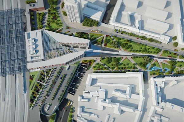 Eredményes lett a Debreceni Főpályaudvar felépítésére kiírt tender