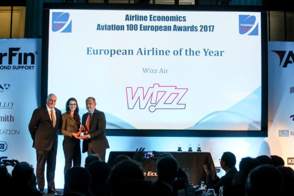 A Wizz Air az év európai légitársasága