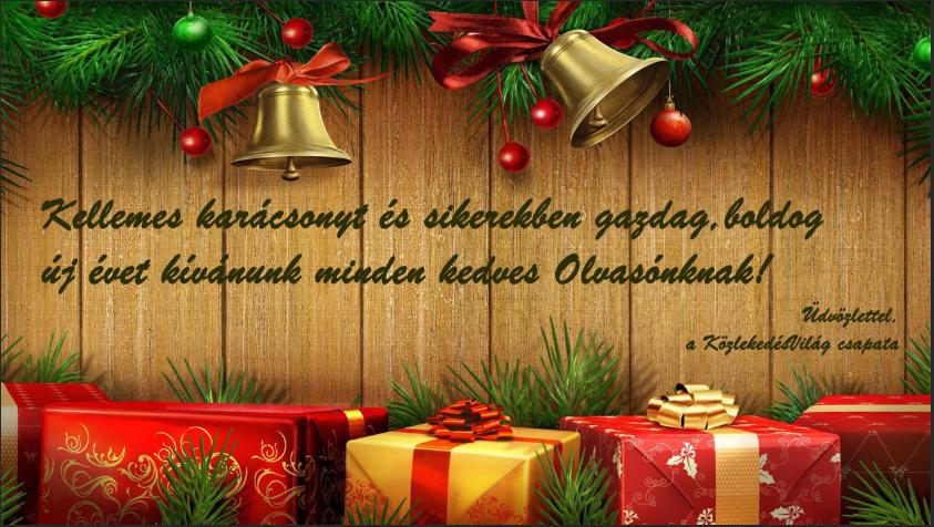 Kellemes ünnepeket kívánunk!