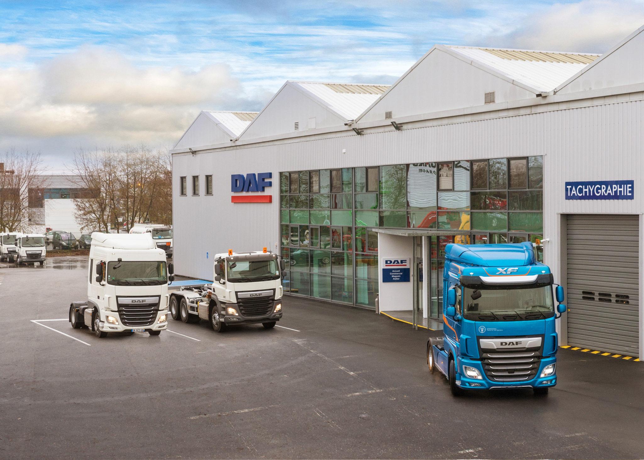 Új márkakereskedést nyitott Párizsban a DAF Trucks