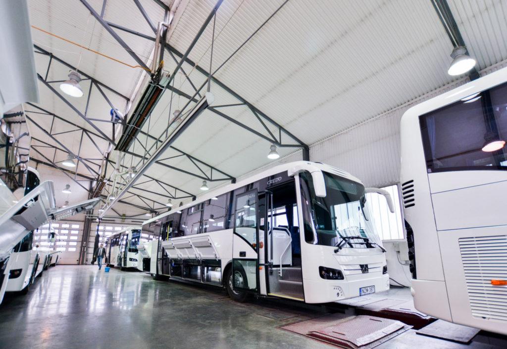 Korszerűsödő buszparkok