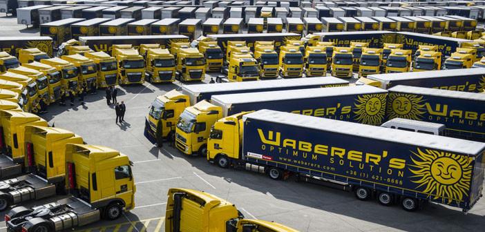 19 milliárd forint értékben fejleszti kamionparkját a Waberer's