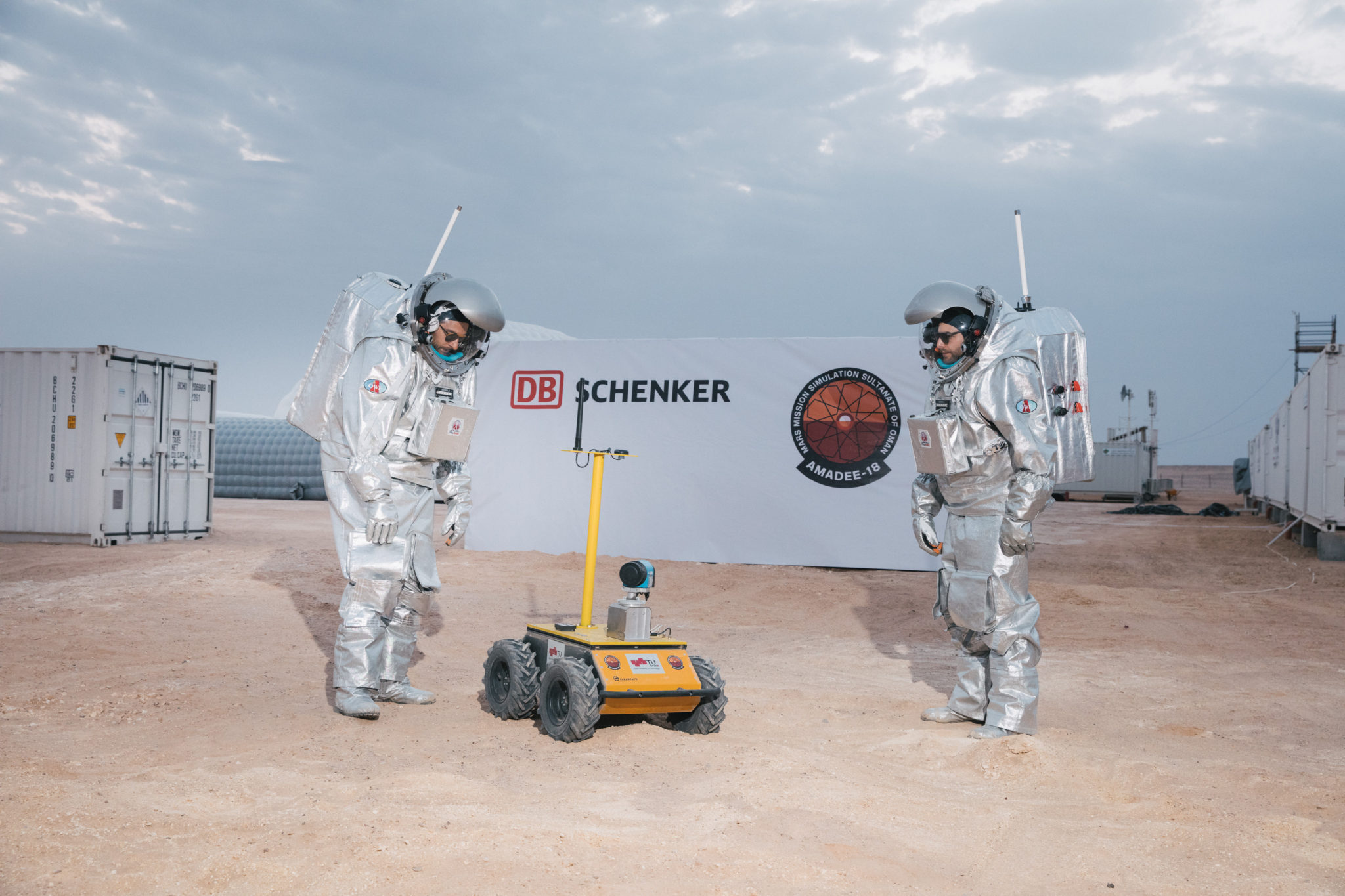 Mars-szimulációt tart a DB Schenker és az Osztrák Világűrfórum