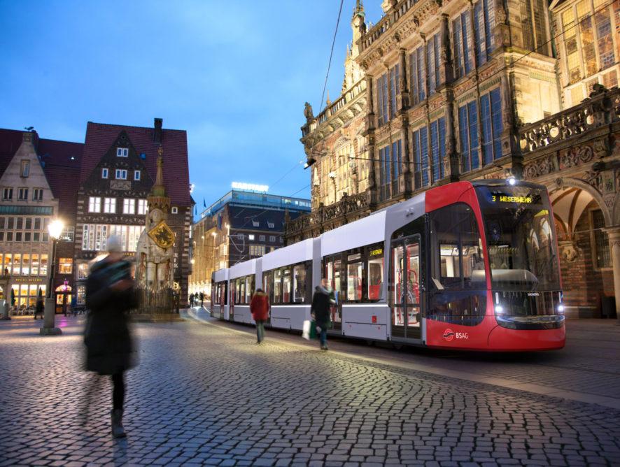 A Siemens további tíz villamost szállít Bréma számára