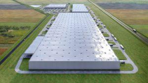 Üllőn épül Magyarország eddigi legnagyobb logisztikai központja