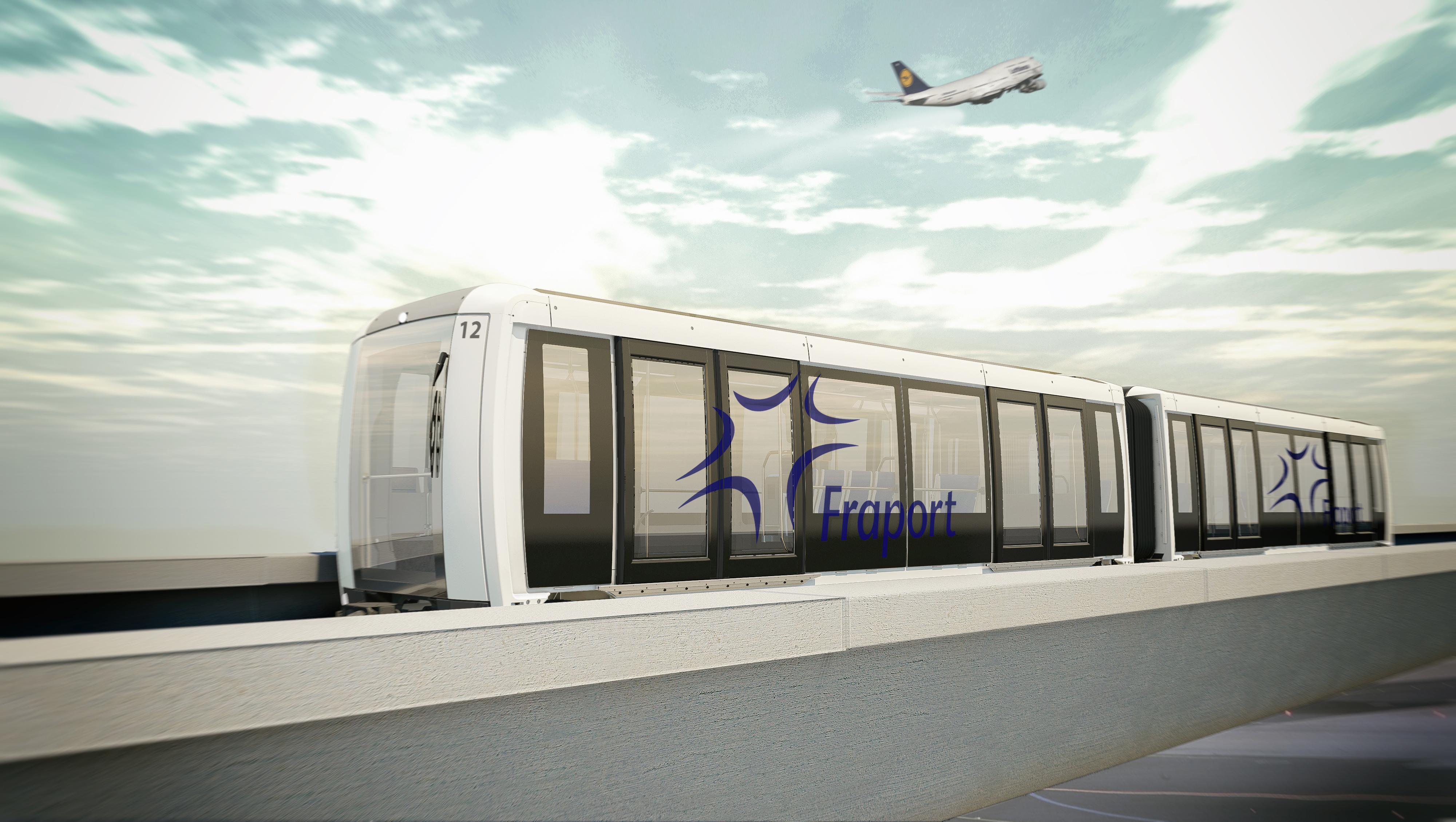 Automatizálják az utasszállító rendszert a frankfurti repülőtéren