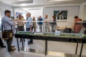 Látogatóközpont nyílt a komáromi Duna-hídnál