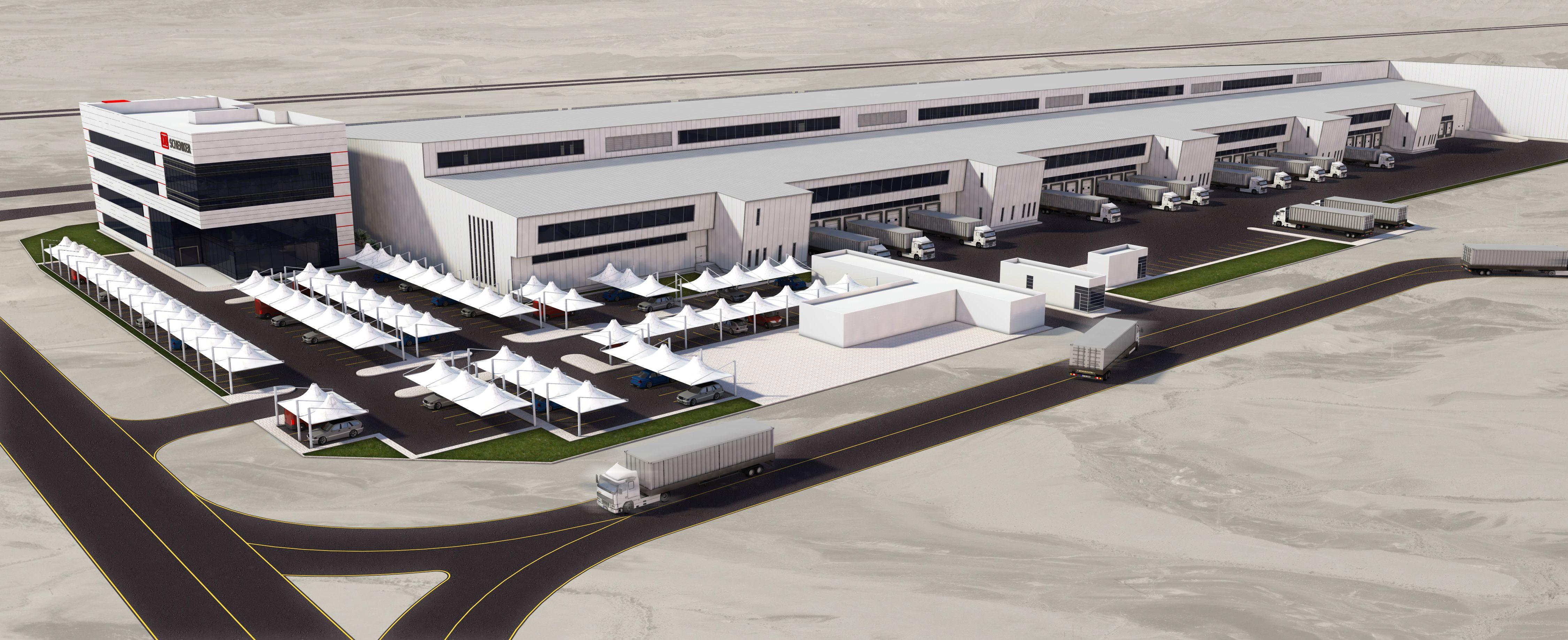 A DB Schenker második logisztikai központját építi fel Dubaiban