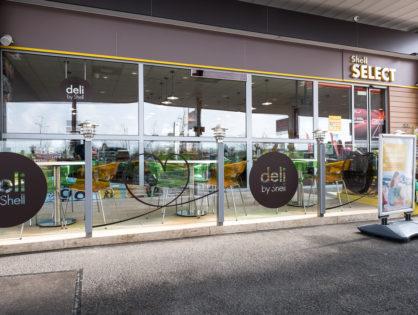 DELI BY SHELL - Átalakított shopok és exkluzív ételkínálat Fördős Zé közreműködésével