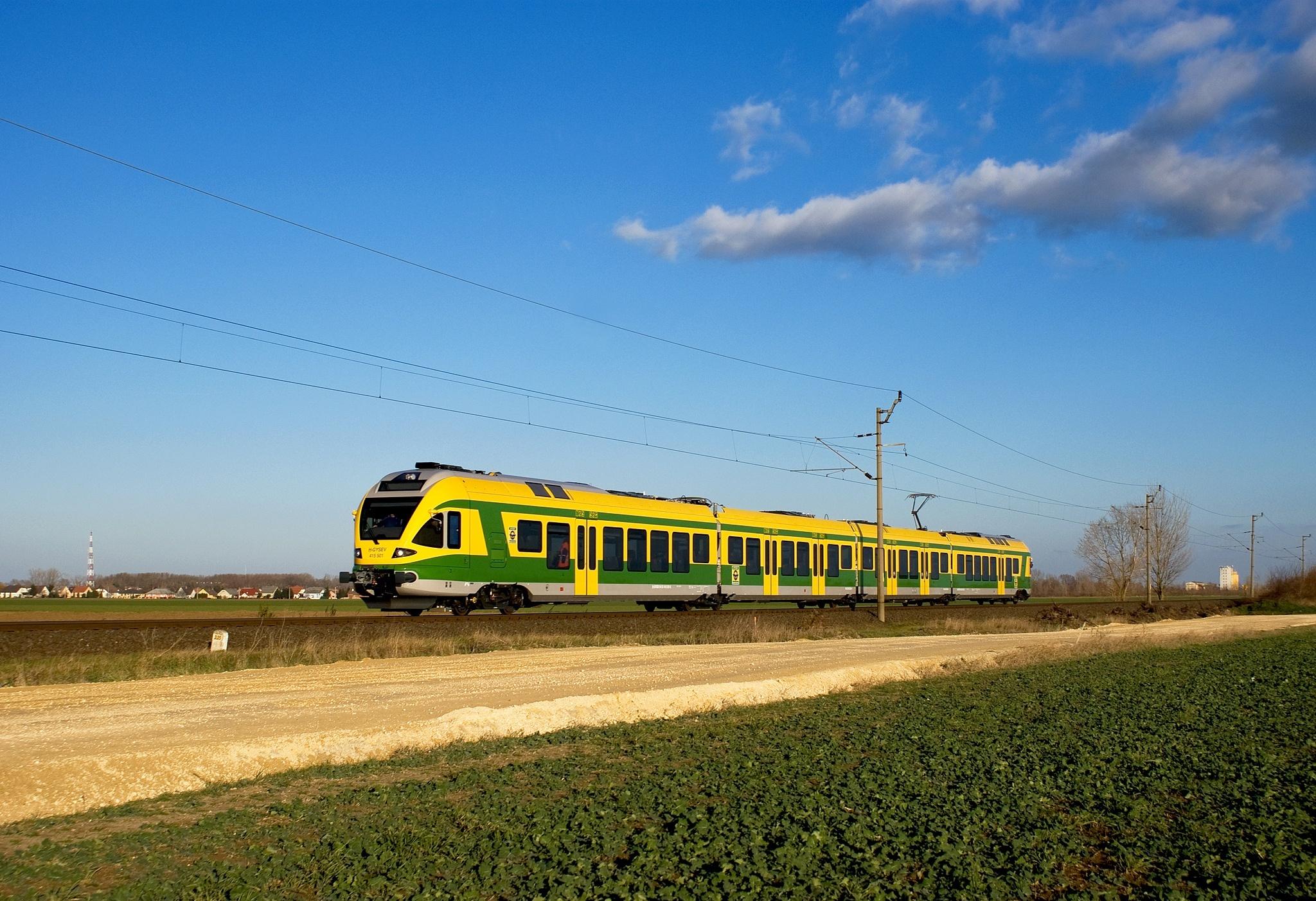 Kétvágányúsításra vár a Győr–Sopron vasútvonal