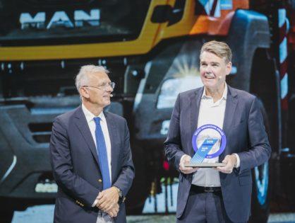 Elnyerte az első Tehergépkocsi-innovációs Díjat az MAN aFAS az IAA-n