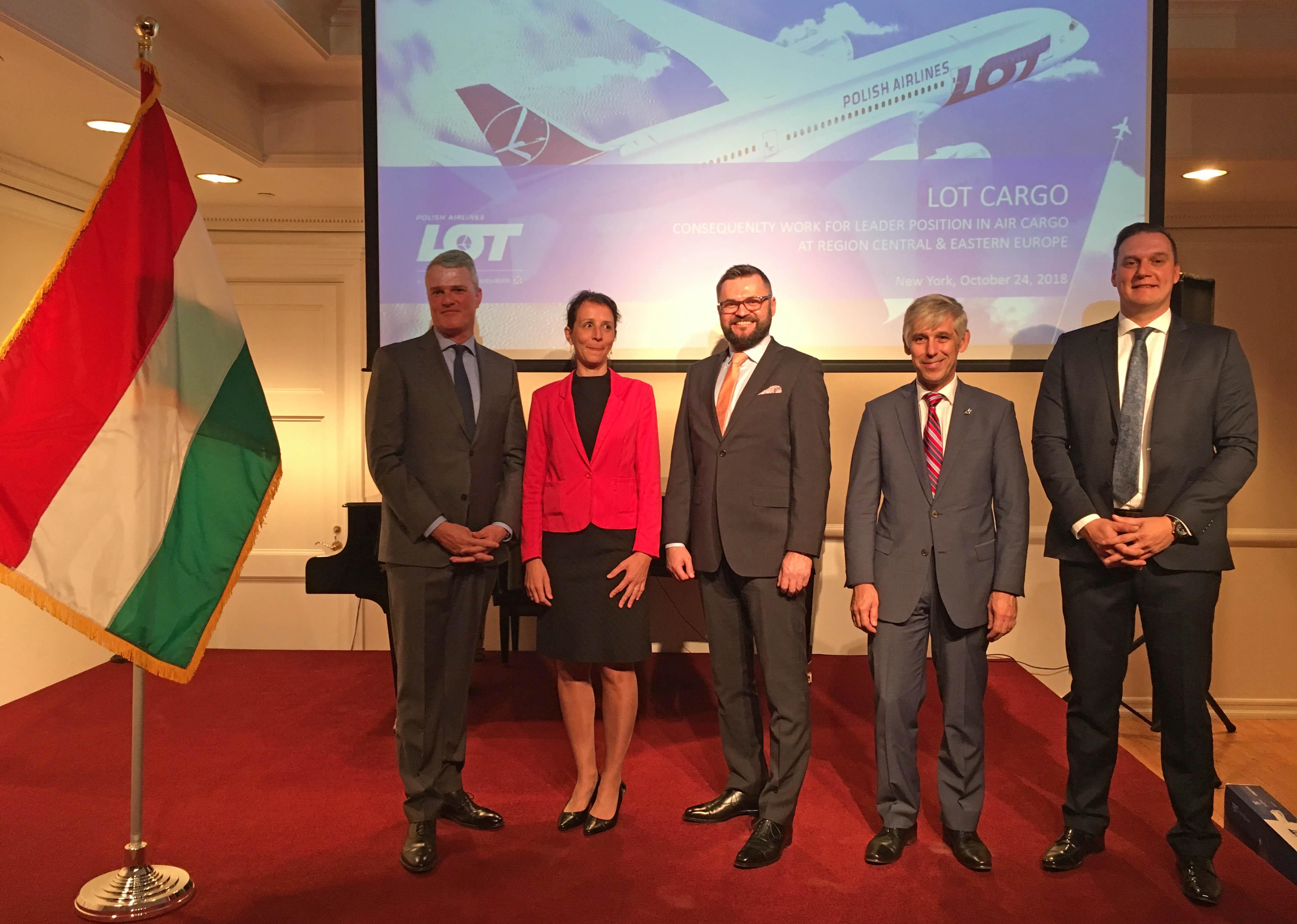 Budapest Airport: nyitás az amerikai cargo piac felé