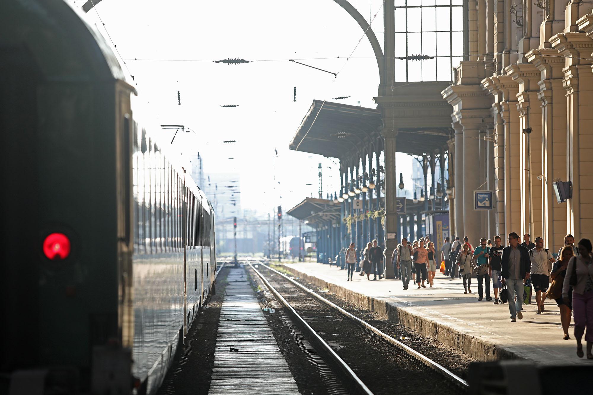Egyre többen használják a vasutat