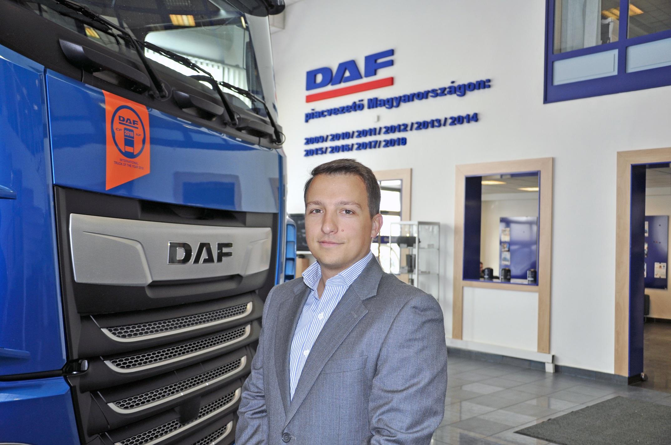 Tizedik éve töretlenül piacvezető a DAF márka Magyarországon