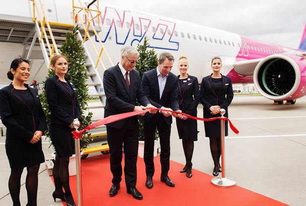 Új korszak a Wizz Airnél: Budapestre érkezik az első Airbus A321neo