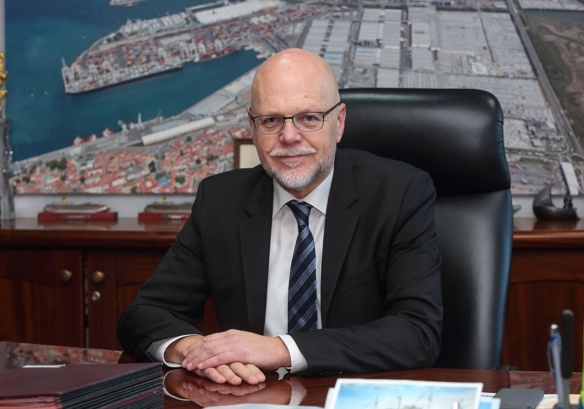 Dimitrij Zadel, a Koperi Kikötő igazgatótanácsának elnöke