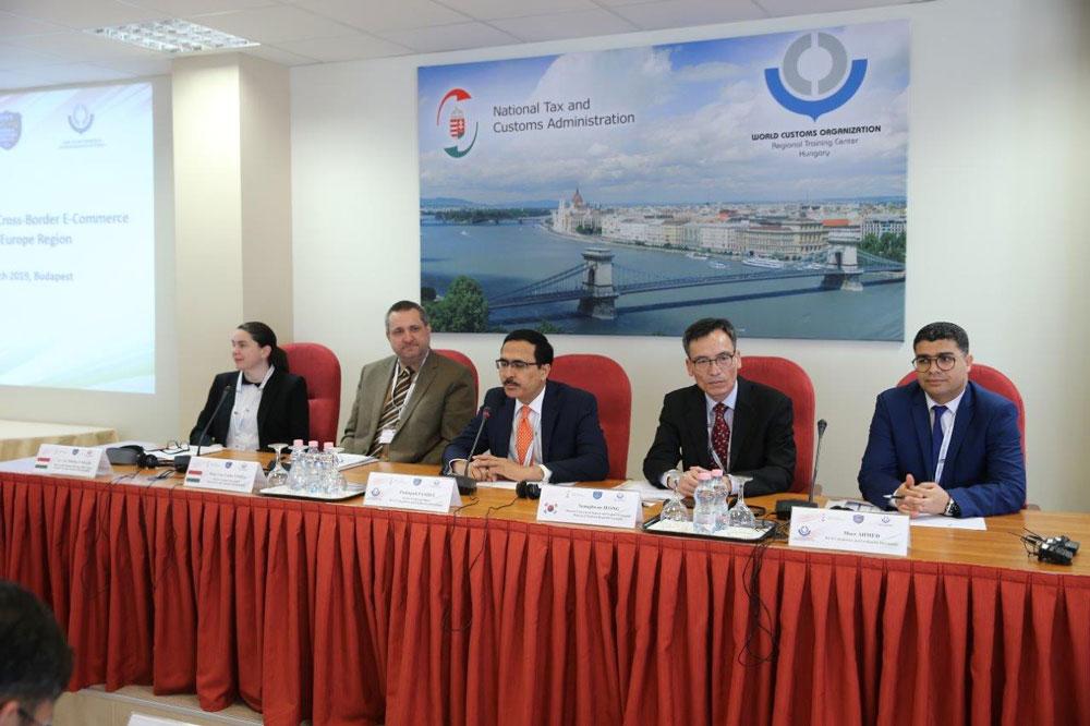 A Vám Világszervezet regionális workshop-ja a határokon átnyúló e-kereskedelemről