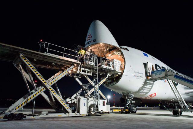 Megnyitott a BUD Cargo City, megérkezett az első óriásgép
