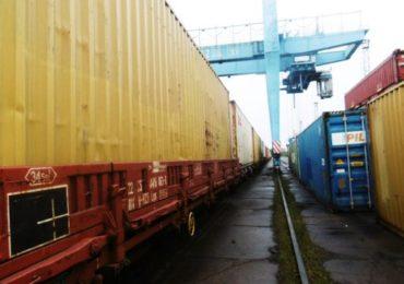 Élénkülő vasúti áruforgalom Záhonyon keresztül Kínából