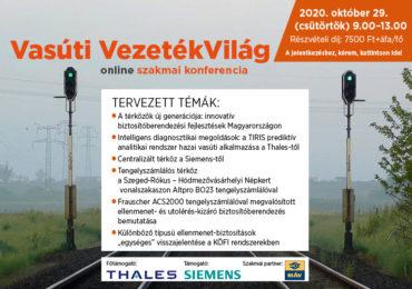 Vasúti VezetékVilág online szakmai konferencia