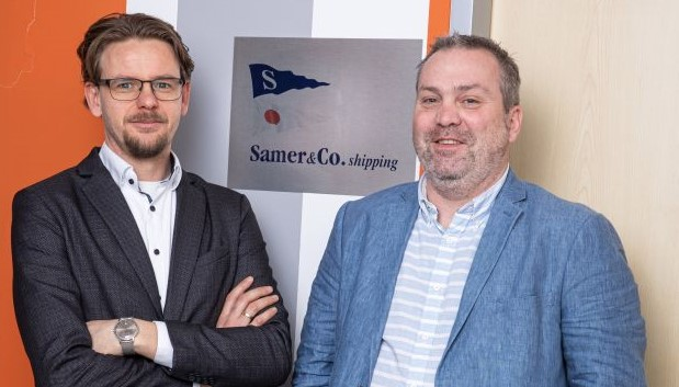 Fenntartható üzlet valódi ügyféltörődéssel – interjú Gubek Tiborral, a Samer & Co. Shipping Kft. tulajdonos-ügyvezetőjével és Xander Geisterfer szállítmányozási igazgatóval