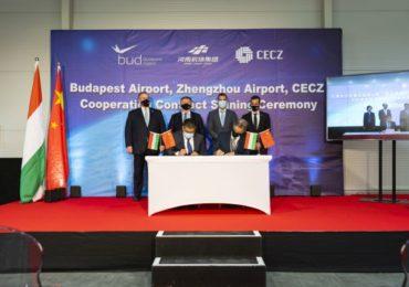 Létrejön a kínai–magyar légi Selyemút, kínai logisztikai bázis épülhet a budapesti repülőtéren