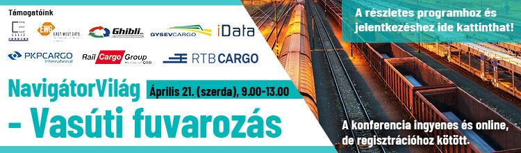 NavigátorVilág – Vasúti fuvarozás online konferencia