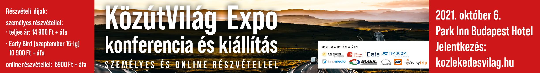 KözútVilág Expo konferencia és kiállítás