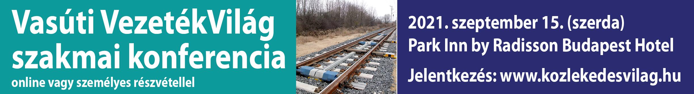 Vasúti VezetékVilág szakmai konferencia